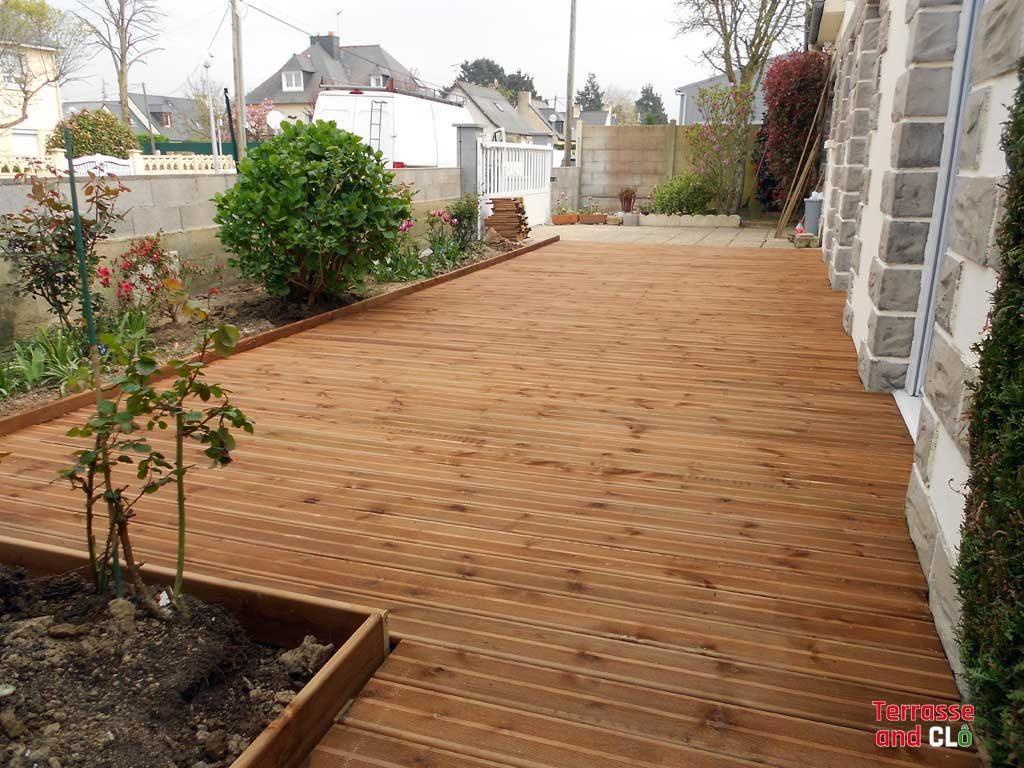 terrasse renovation en bois